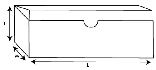 半圆花纹对比设计图